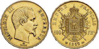 100 FR, Empire Francais 1859