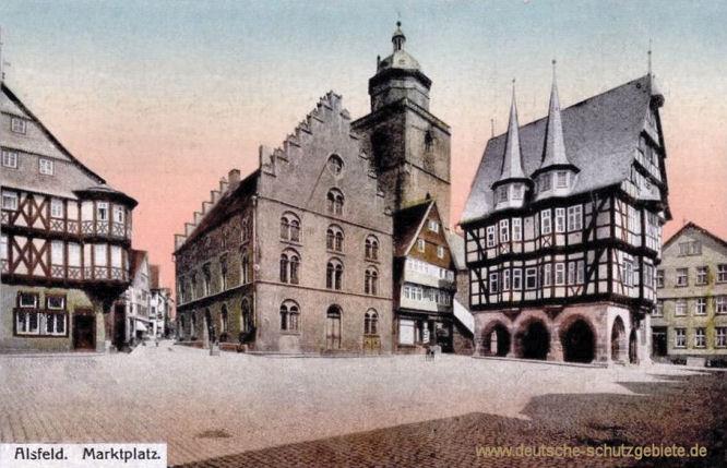 Alsfeld, Marktplatz