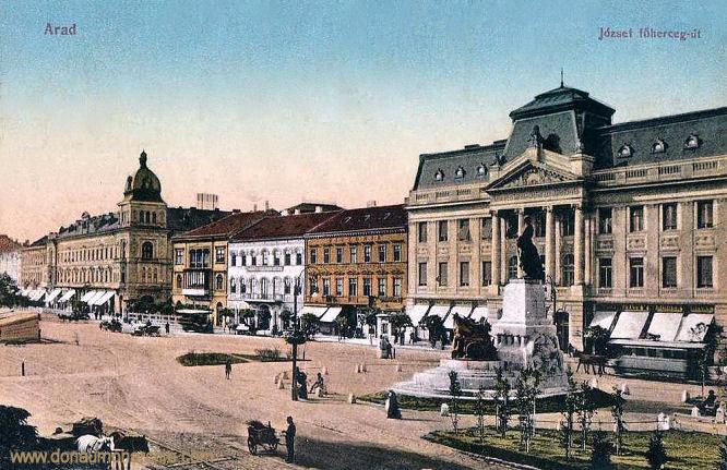 Arad - József föherceg-ütca (Erzherzog Joseph-Straße)