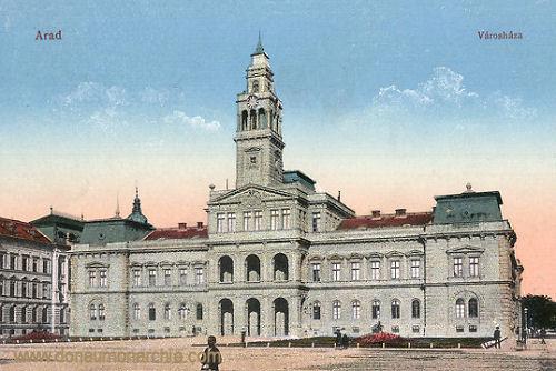 Arad, Városháza (Rathaus)