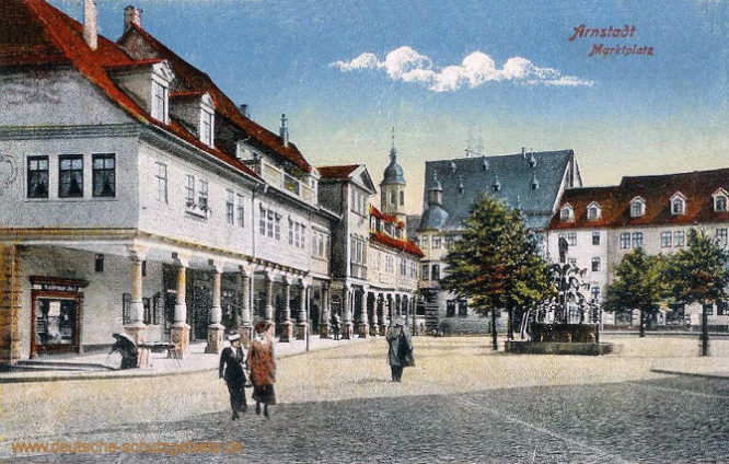 Städte im Fürstentum Schwarzburg-Sondershausen | deutsche ...