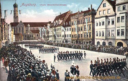 Augsburg, Obere Maximilianstraße