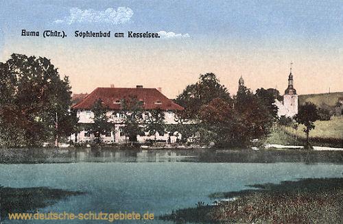 Auma, Sophienbad Kesselsee