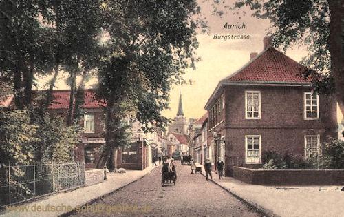 Aurich, Burgstraße