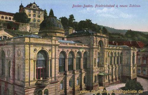 Baden-Baden, Friedrichsbad & neues Schloss
