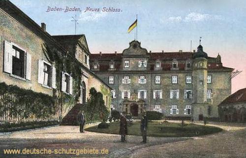 Baden-Baden, Neues Schloss