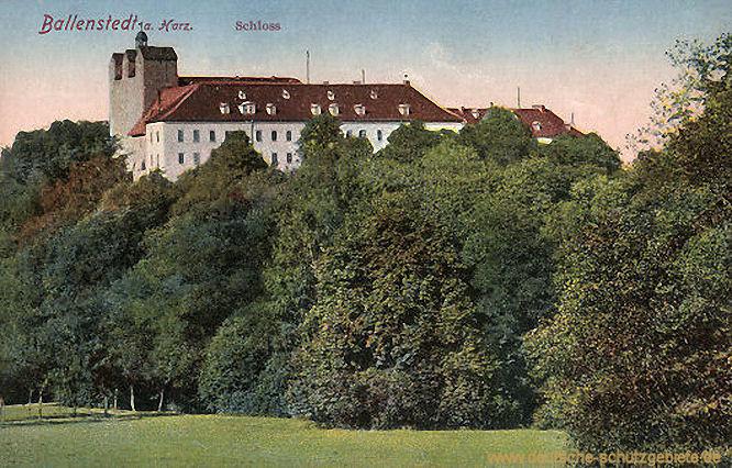 Ballenstedt am Harz, Schloss
