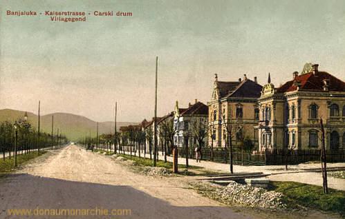Banjaluka, Kaiserstraße, Villagegend
