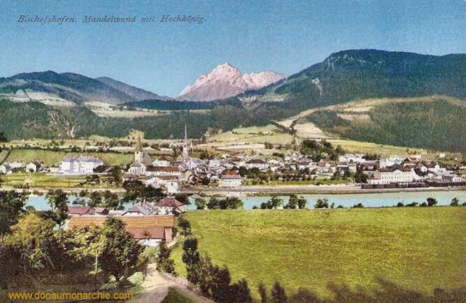 Bischofshofen, Mandelwand mit Hochkönig