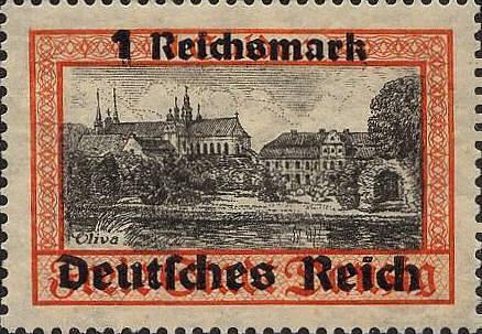 Deutsches Reich 1939, 1 Reichsmark