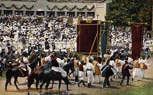 Bukowina , Huldigungsfeier 1908 in Wien