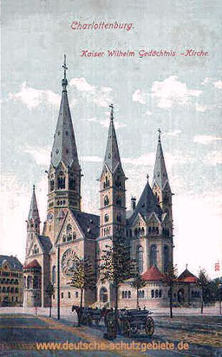 Charlottenburg, Kaiser Wilhelm Gedächtnis-Kirche