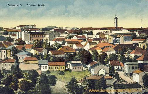 Czernowitz, Totalansicht