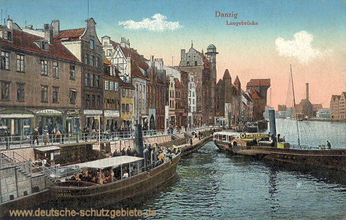 Danzig, Langebrücke