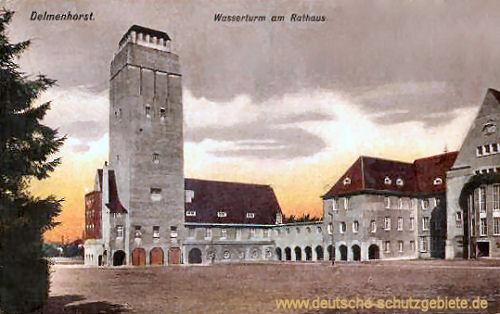 Delmenhorst, Wasserturm am Rathaus