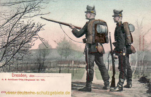 Dresden, Schützenregiment Nr. 108