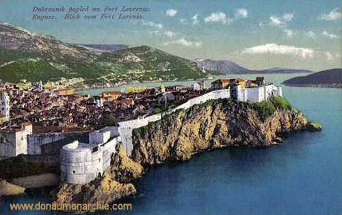 Ragusa, Blick vom Fort Lorenzo