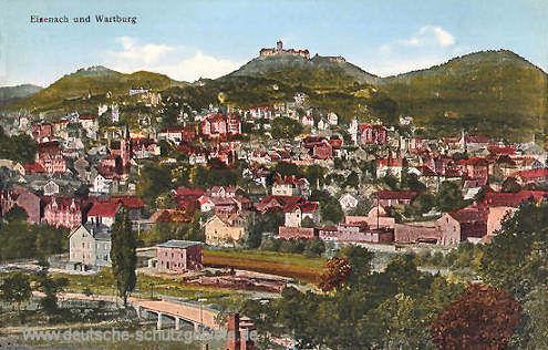 Eisenach und Wartburg