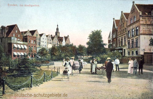 Emden, Im Stadtgarten