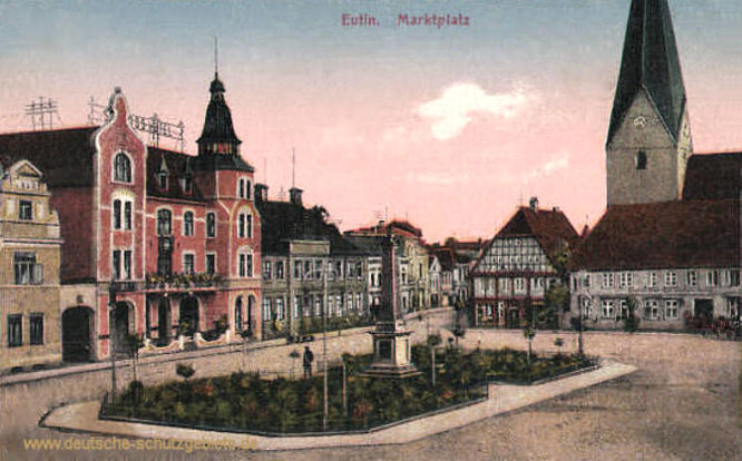 Eutin, Marktplatz