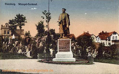 Flensburg, Wrangel-Denkmal