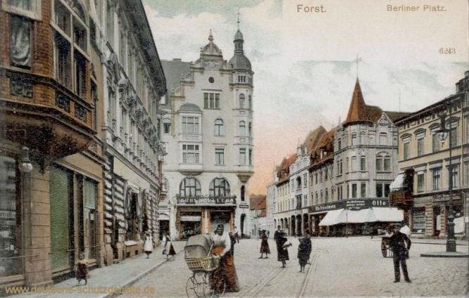 Forst, Berliner Platz