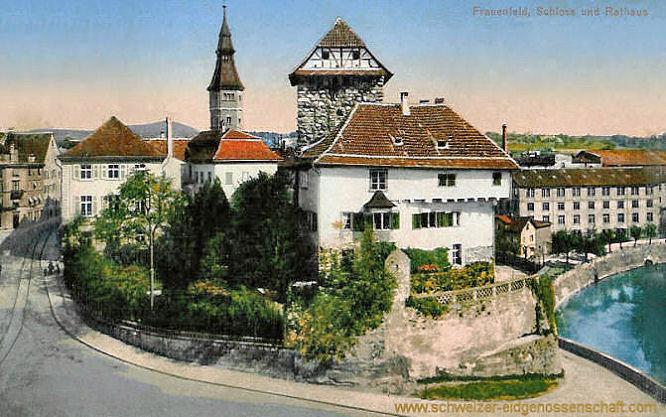 Frauenfeld, Schloss und Rathaus