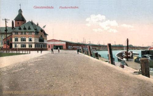 Geestemünde, Fischereihafen
