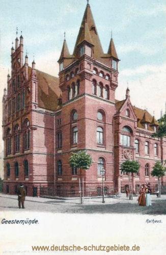 Geestemünde, Rathaus