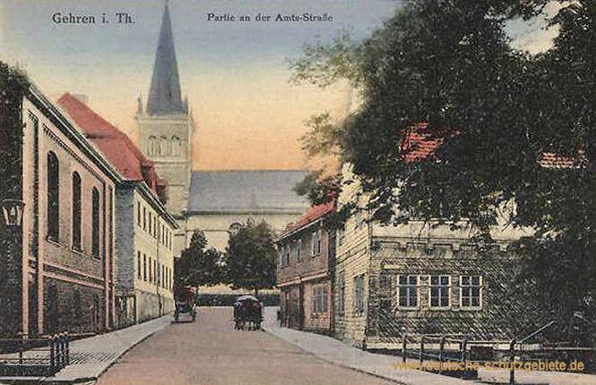 Gehren, Amts-Straße