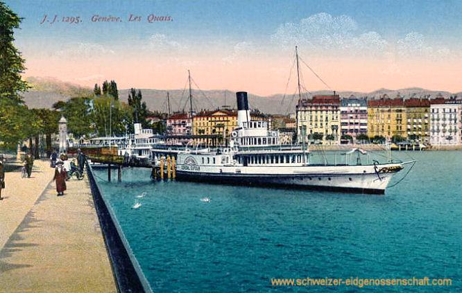 Genève, Les Quais