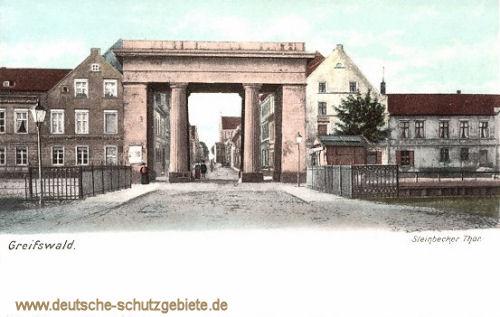 Greifswald, Steinbecker Thor
