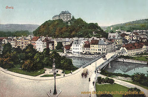 Greiz, Oberes Schloss