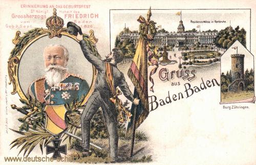 Gruss aus Baden-Baden