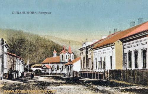 Gurahumora, Postgasse