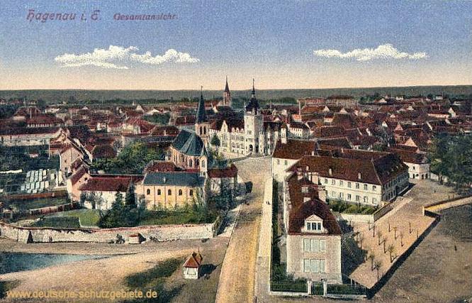 Hagenau i. E., Gesamtansicht