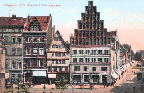 Hannover, Alte Kanzlei und Breitestraße
