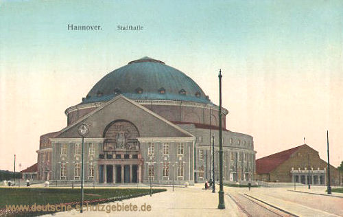 Hannover, Stadthalle