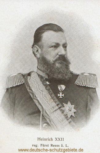 Heinrich XXII. Fürst Reuss ä.L.