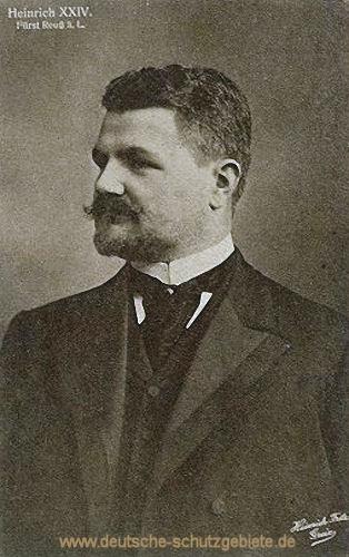 Heinrich XXIV. Fürst Reuss ä.L.