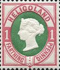 1 Pfennig, Helgoland 1875