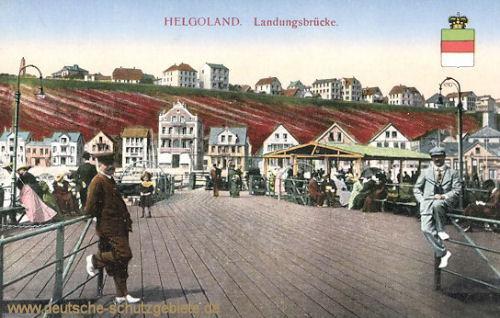 Helgoland, Landungsbrücke