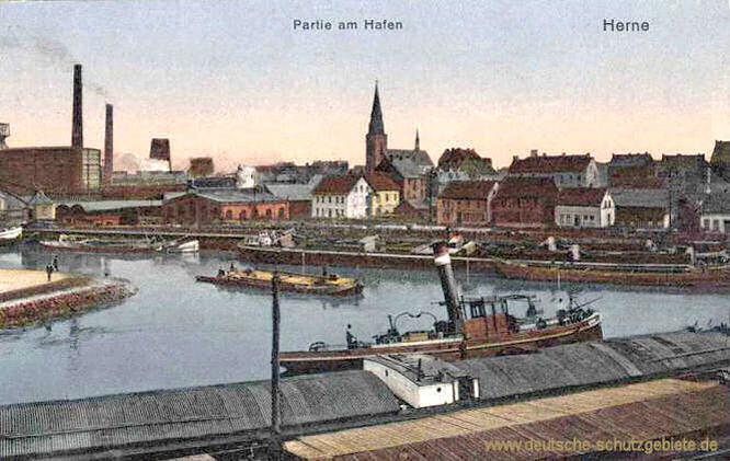 Herne, Partie am Hafen