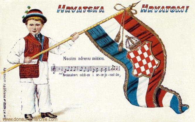 Hrvatska Hrvatom! (Kroatien Kroaten)