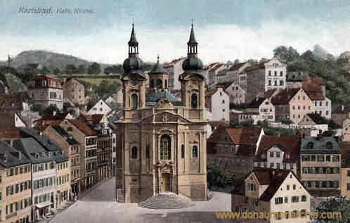 Karlsbad, Katholische Kirche