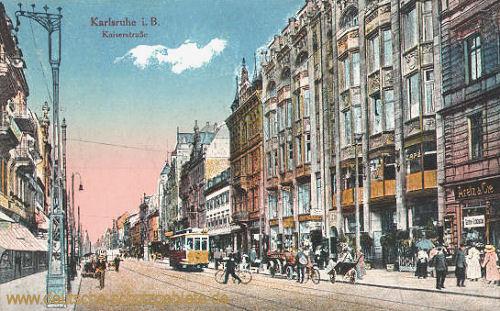 Karlsruhe i. B., Kaiserstraße