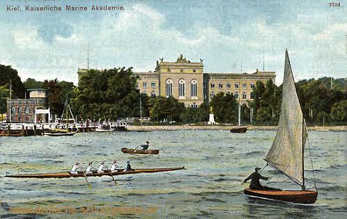 Kiel, Kaiserliche Marine Akademie