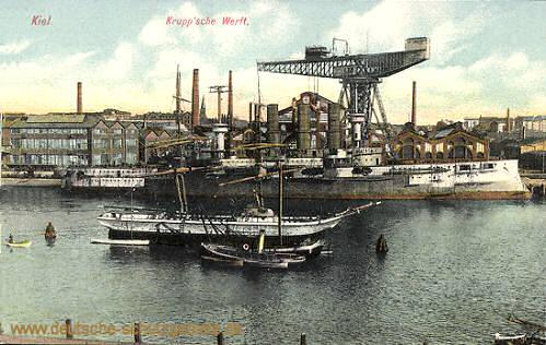 Kiel, Krupp'sche Werft