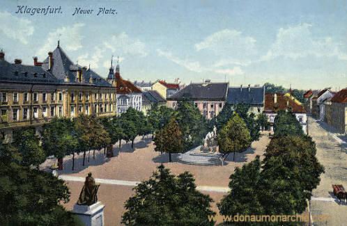 Klagenfurt, Neuer Platz