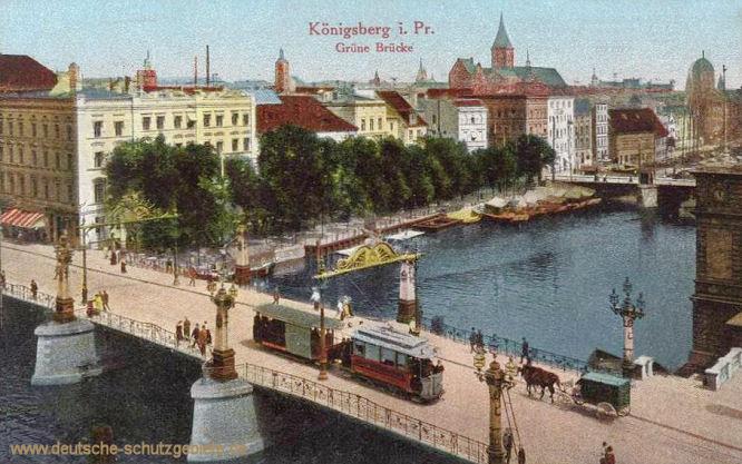 Königsberg i. Pr., Grüne Brücke